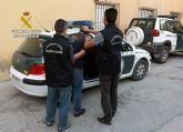 La Guardia Civil detiene al presunto autor de un robo con violencia en Cieza que motivó el ingreso hospitalario de la víctima