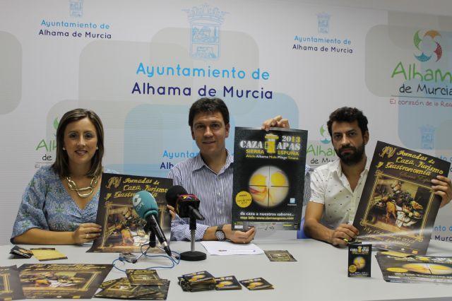 Alhama de Murcia acoge el próximo fin de semana las IV Jornadas de Caza, Turismo y Gastronomía de Sierra Espuña, Foto 1