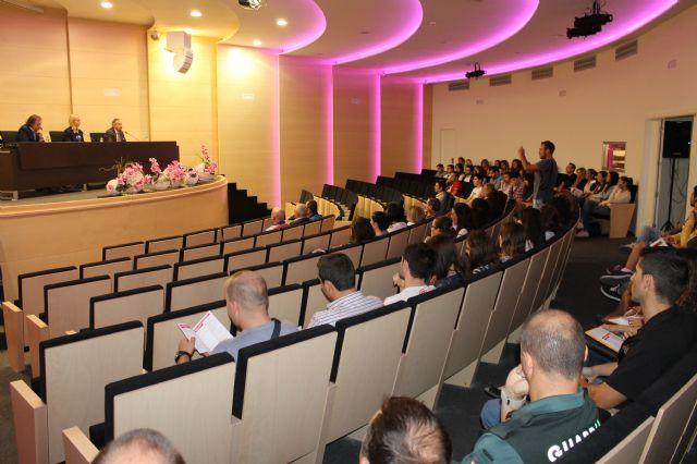 Más de un centenar de agentes y estudiantes participan en las jornadas de seguridad ciudadana de la UMU - 1, Foto 1