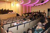 Más de un centenar de agentes y estudiantes participan en las jornadas de seguridad ciudadana de la UMU