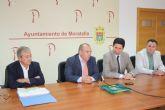 El consejero de obras públicas y ordenación del territorio y el director general de carreteras visitan Moratalla