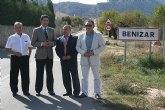 El consejero de Obras Públicas visita distintas infraestructuras y vías de comunicación de Moratalla