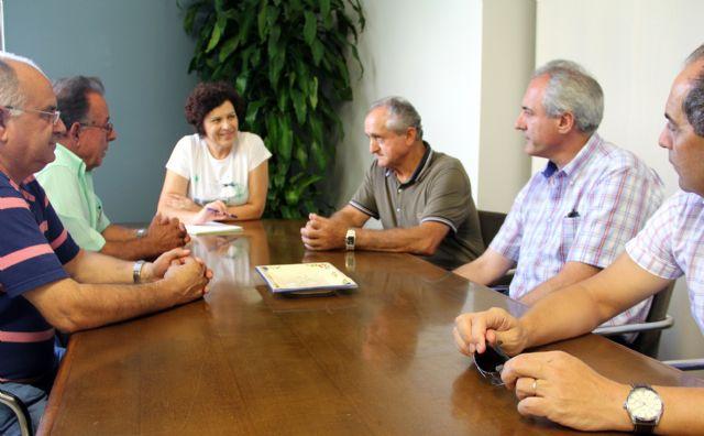 La Alcaldesa se reúne con la Comunidad de Regantes de Puerto Lumbreras para analizar los proyectos integrales de modernización de regadíos - 1, Foto 1