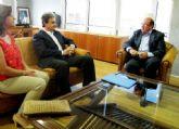 El Alcalde de Alguazas mantiene una reunión de trabajo con el Consejero de Educación, Universidades y Empleo