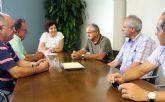 La Alcaldesa se reúne con la Comunidad de Regantes de Puerto Lumbreras para analizar los proyectos integrales de modernización de regadíos