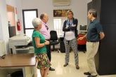 La Alcaldesa visita las nuevas dependencias de la Oficina Comarcal Agraria de Archena