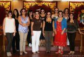Las mujeres de Alguazas se tiñen de rosa