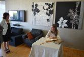 Su Alteza Real la Princesa de Asturias firma en el Libro de Oro de la Leal y Noble Ciudad de Totana