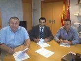 Firma de convenio para la realización de prácticas en el ayuntamiento de La Unión de alumnos de formación profesional ocupacional