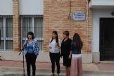 Más de trescientas personas arropan a la familia de Julián Muñoz López durante el nombramiento del local social de El Raiguero Alto