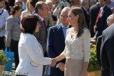 La alcaldesa agradece y felicita al pueblo de Totana por su acogida y comportamiento con motivo de la visita de SAR la Princesa de Asturias a la ciudad