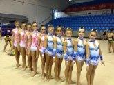 El Club Gimnasia Competición de Torre-Pacheco se clasifica para el Nacional Base de Conjunto y para la Copa de la Reina de Conjuntos