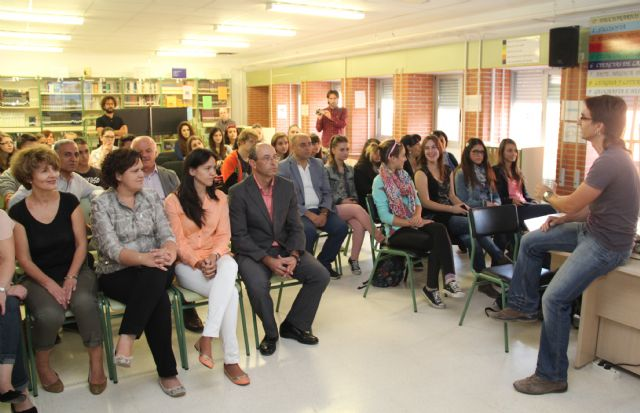 Alumnos de Italia, Turquía, Hungría y Polonia trabajan la concienciación medioambiental en el IES Rambla de Nogalte a través de un proyecto europeo - 1, Foto 1
