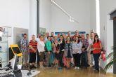 Un grupo de noruegos visitan el Museo Arqueol�gico de Los Baños de Alhama de Murcia