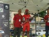 Juan Antonio Sánchez, del Club Ciclista Santa Eulalia, tercero en Puente Tocinos (Memorial Enrique Boluda)