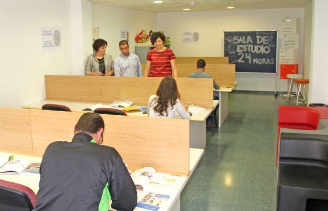Nueva sala de estudio 24 horas en Puerto Lumbreras con acceso mediante huella dactilar los 365 días del año - 1, Foto 1
