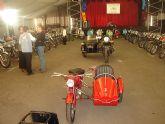 El parque Almansa acoge una gran exposición de motos antiguas durante este fin de semana