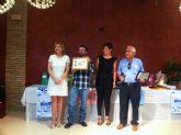El ayuntamiento de Totana homenajea a la asociación de padres de discapacitados psíquicos de Totana