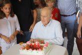 José Ruiz Saura cumple 100 años y es el hombre pachequero más longevo