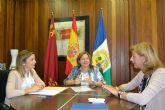 La Directora General de Centros Educativos visita los Colegios Públicos de San Pedro del Pinatar