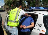 La Guardia Civil detiene al presunto autor de más de una veintena de robos en vehículos en Torre Pacheco
