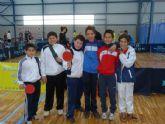 Alguazas será sede este próximo 25 de enero de la Final Regional de Tenis de Mesa de Deporte en Edad Escolar