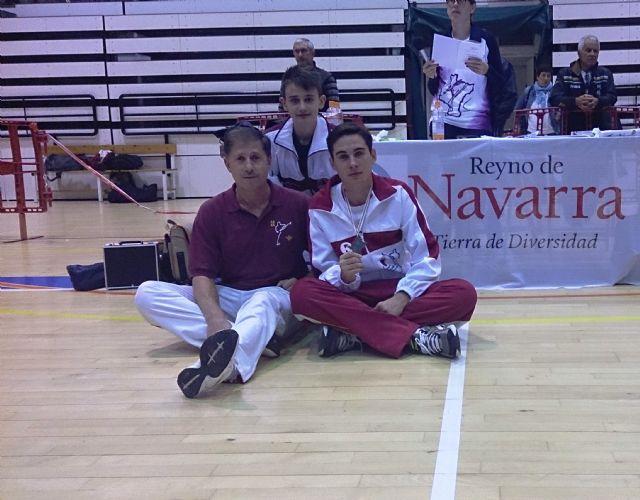 Antonio Méndez alcanza el bronce en la categoría 43 kg. del VI Open Nacional de Taekwondo - 1, Foto 1