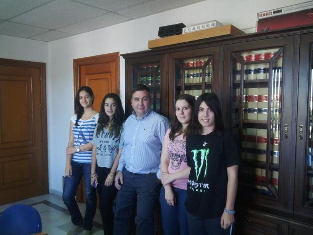 Los corresponsales juveniles de Alguazas inician un nuevo curso de activa gestión de intermediación e información - 2, Foto 2