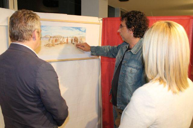 El Centro Cultural acoge una exposición sobre Iberia y Fenicia del mazarronero Juan Navarro - 2, Foto 2