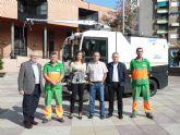La empresa de servicios SERCOMOSA adquiere una nueva barredora para reforzar la limpieza viaria en Molina de Segura