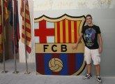 El joven atleta torreño Sergio Jornet ficha por el FC Barcelona