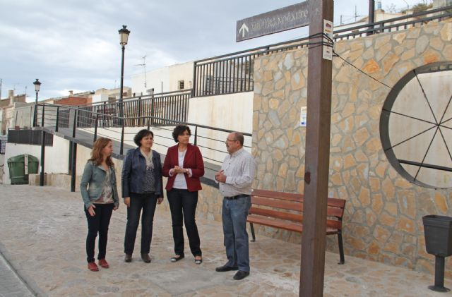 Finalizan obras de rehabilitación en calles del casco antiguo y creación de viales de acceso al Castillo de Nogalte - 1, Foto 1