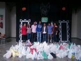 600 kilos de alimentos solidarios donados por Nuevas Generaciones