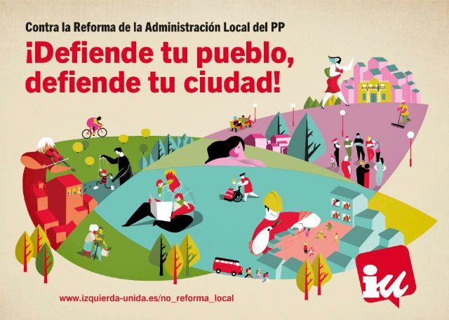 Penalva: La reforma de los ayuntamientos va contra los intereses de los vecinos - 1, Foto 1