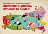 Penalva: 'La reforma de los ayuntamientos va contra los intereses de los vecinos'
