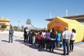 Jornada sobre primeros auxilios organizada por el Ayuntamiento de Fortuna y dirigida a alumnos del Colegio Público 'Vicente Aleixandre'