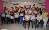 La asociación de mujeres 'Isabel González' torreña mejora su memoria