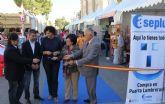 Inaugurada la Feria de Comercio en la que participan más de una veintena de comercios lumbrerenses