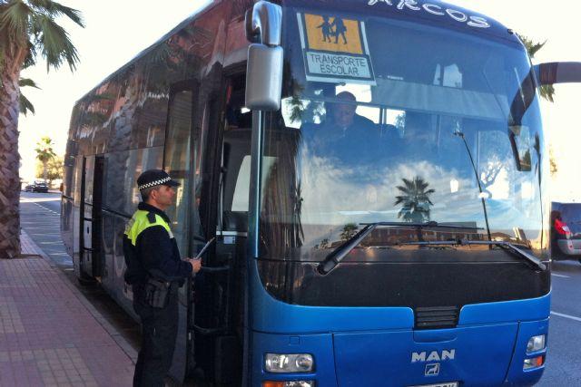 El Ayuntamiento se adhiere a la campaña de la DGT de control de autobuses para  garantizar la seguridad de escolares - 1, Foto 1