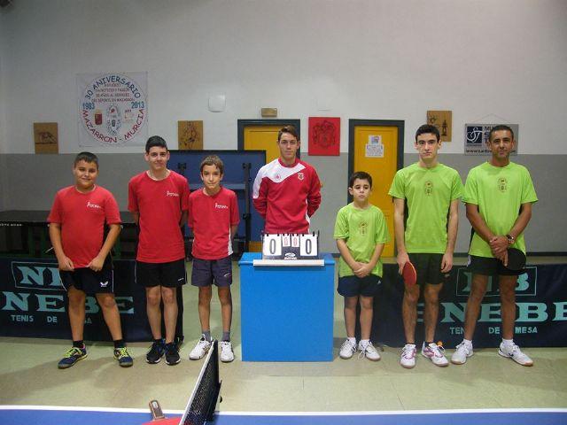 Resultados y comentarios de los partidos de este fin de semana de los equipos del Club Totana TM, Foto 5
