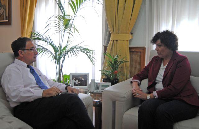 La alcaldesa se reúne con el Delegado de Gobierno de la Región de Murcia para abordar asuntos referentes a Puerto Lumbreras - 1, Foto 1