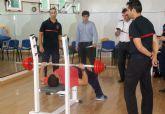Continúan en Las Torres de Cotillas las pruebas físicas de los aspirantes a bombero de la Región de Murcia
