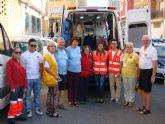 Los 'Lions International' caminan en Mazarrón y Puerto contra la diabetes