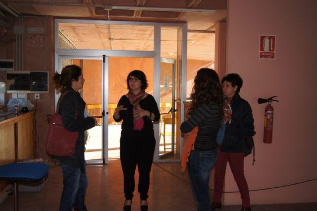 La alcaldesa de Totana visita el Yacimiento Argárico de La Bastida para conocer de primera mano los trabajos de acondicionamiento del parque turístico, Foto 4
