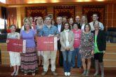 El Ayuntamiento de Molina de Segura recibe la visita de un grupo de profesores de la ciudad galesa de Cardiff que participa en la Asociación Comenius Regio