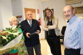 LA Alcaldesa homenajea a Norberta Carrasco, funcionaria de la OCA de Archena, por su jubilación a partir de hoy