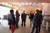 La alcaldesa de Totana visita el Yacimiento Argárico de La Bastida para conocer de primera mano los trabajos de acondicionamiento del parque turístico