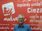 IU-Verdes de Cieza muestra su rechazo al anteproyecto de ley de reforma del sector eléctrico aprobado por el Gobierno