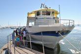 Turismo amplía la visita guiada en barco por el Mar Menor a la que ya han asistido 1.300 personas