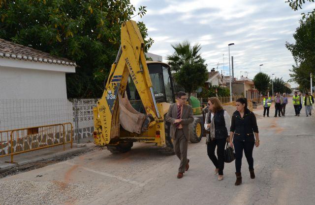 Comienzan las obras de renovación de la red de agua potable de San Pedro del Pinatar - 2, Foto 2